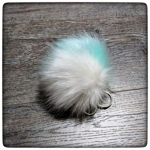 Accessories - NWOT  ~ POM POM KEYCHAIN